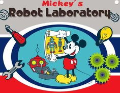 The aim of the game is to create a robot with Mickey Mouse that can secure Mickey in a battle and beat his opponents every time. After you create the robot use your mouse to click on the right or left punch and click really fast so that you catch your enemy off guard.