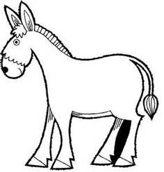donkey coloring page animal coloring pages coloring pages for kids thousands of free printable coloring pages for kids - Donkey Coloring Pages