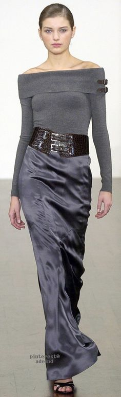 Serena Tullevette would wear this. Ralph Lauren Fall 2005  ~ CE♥