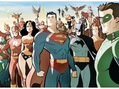 Papel de Parede Gratuito de Quadrinhos : Heróis DC
