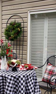 December Deck - Back Porch Musings
