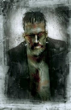 By the great comics artist Ben Templesmith