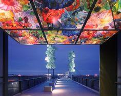 Chihuly Bridge of Glass - Tacoma