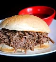 French Dip, Slow Cooker style!