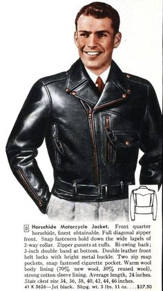 Posts about Leather written by Spencer Stewart Men's Leather Jacket, Biker Leather, Jacket Men, Leather Jackets, Bomber Jacket, Greaser, Leather Products, Men's Wardrobe, Leather Dresses