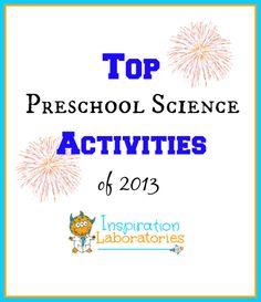 Top Preschool Science Activities of 2013