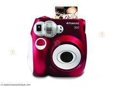 Appareil photo instantané POLAROID PIC 300 rouge