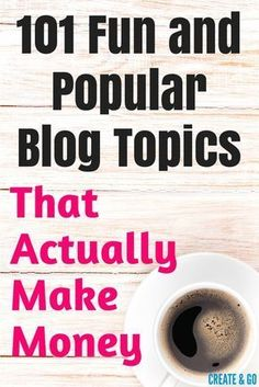101 Fun and Popular That Actually Make Money Podcast Topics, Blog Topics, Top Blogs, Best Blogs, Make Money Blogging, How To Make Money, Blogging Ideas, Earn Money, E-mail Marketing