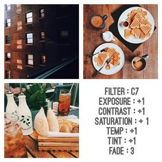 good morning guys! ☀️ or afternoon depending where you live  this is similar to @connorfranta's latest feed. lately he's been using brighter pictures and warmer tones. this is pretty good for a feed and if the picture is too bright you can fix the exposure to your liking -melissa