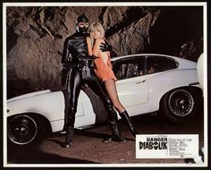 Danger: Diabolik. Movie still,1968. Directed by John Phillip Law, with Marisa Mell and Michael Piccoli