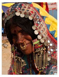 Goa - India, Banjara woman #GoEco #volunteerabroad