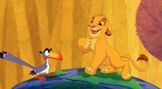 Roar away the Monday blues. Zazu, Simba, The Lion King, August 2016 Disney Movie Trivia, Walt Disney Characters, Disney Songs, Disney Facts, Disney Movies, Cartoon Movies, Lion King Timon, Simba And Nala, The Lion King 1994