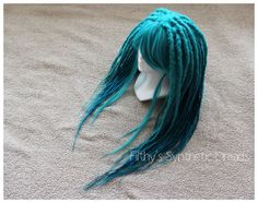 Dread wig / synthetic dreads dreadlocks / new / by FilthyStuff, zł850.00