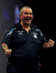 Phil Taylor Photos: 2015 William Hill PDC World Darts Championships - Day Fourteen
