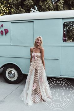 Yolan Chris strapless dress - click through to see every outfit Julianne Hough wore during her wedding weekend