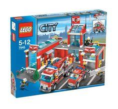 lego fire station 7945 picture - Hľadať Googlom