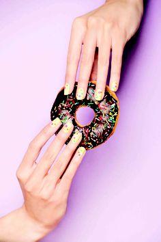 Sweet nails ;) #manicura #cazcarra #lacas