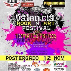 Proacción postergará Valencia Rock N' Art Festival http://crestametalica.com/proaccion-postergara-valencia-rock-n-art-festival/ vía @crestametalica