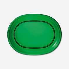 Plate Oval Glass