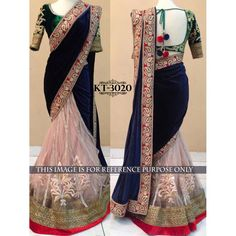 Appreciable Blue Color Party wear & Designer Saree at just Rs.2025/- on www.vendorvilla.com. Cash on Delivery, Easy Returns, Lowest Price.