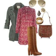 going for lunch by roxcherie on Polyvore