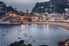 Tossa de Mar, Spain ✈✈✈ Don't miss your chance to win a Free Roundtrip Ticket to Barcelona, Spain from anywhere in the world [GIVEAWAY] ✈✈✈ https://thedecisionmoment.com/free-roundtrip-tickets-to-europe-spain-barcelona/
