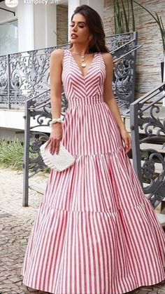 Yes To The Dress, Tiered Dress, Maxis, Casual Outfits, Prom Dresses, Couture, Elegant, Chic, Hair Styles