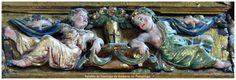 Detalle del Retablo del Altar de Pampliega.