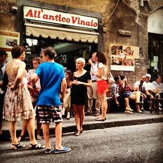 All'Antico Vinaio -- famous Florentine deli