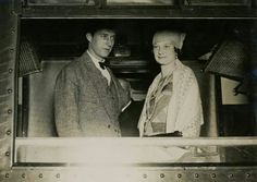 King Leopold lll of Belgium with Queen Astrid of Belgium.A♥W