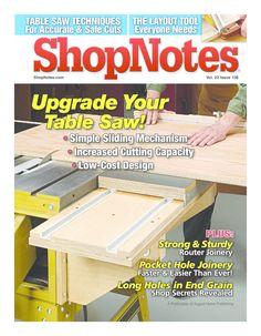 ShopNotes volume 138 - November 2014