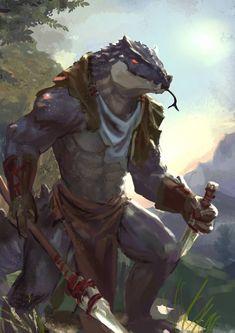 Day 115 Lizardman a Day! - Imgur
