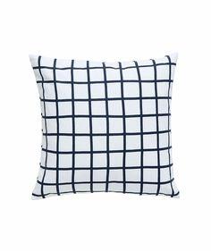 Grid Small Cushion Slate. | http://www.huntingforgeorge.com