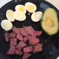 Paleo post-workout breakfast. #paleo #meat #protein