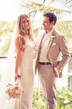 Laid-Back Maui Wedding, Bride and Groom Portraits