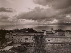 Residence @ Sfendouri, Aegina by Kyriakos Krokos arch. Construction, Clouds, Celestial, Sunset, Architecture, Pictures, Outdoor, Building, Arquitetura