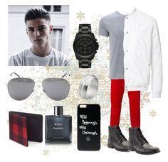 """16. New Years Look"" by marleyvakapuna ❤ liked on Polyvore featuring Balmain, HL Heddie Lovu, Robert Wayne, Michael Kors, Yves Saint Laurent, Urban Pipeline, Chanel, men's fashion and menswear"