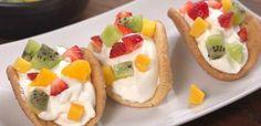 Sugar Cookie Tacos!! Super easy, looks delish!!