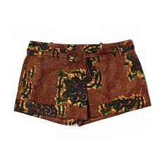 Pre-owned Twelfth Street by Cynthia Vincent Shorts Size 8: Brown... ($17) ❤ liked on Polyvore featuring brown