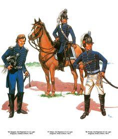 2nd US Light Dragoons 1813