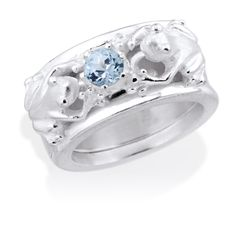Das Prinzip; Basic Ehering+ Seitenspringer Ring = Eheverheimlichungsring- www.drachenfels-design.de