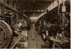 The machine hall (1930)