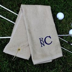 Looking for a last minute Father's Day gift? These golf towels make a perfect gift with a personalized touch.  Order by this weekend to guarantee Father's Day delivery!