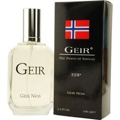 GEIR EAU DE PARFUM SPRAY 3.4 OZ MEN by Geir Ness. $65.38. GEIR EAU DE PARFUM SPRAY 3.4 OZ MEN. casual exotic herbs, musk.