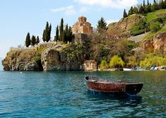 Ohrid, Macedonia - Travel Guide and Travel Info ~ Tourist Destinations Best Tourist Destinations, Places To Travel, Albania, Bulgaria, Oh The Places You'll Go, Places To Visit, Republic Of Macedonia, Macedonia Fyrom, Southern Europe