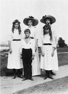 The Imperial children: 1912.