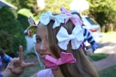 Free Shipping today only!! Handmade hair bows  you pick 4 for 20 by TheSweetBeanBoutique, $20.00