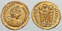 Licinia Eudoxia (Constantinopla, 422 - ibíd., 462) fue una emperatriz romana de Occidente. Única hija superviviente de Teodosio II y Elia Eudoxia, se casó con quien sería Valentiniano III en 437, primo suyo, el 29 de octubre de 437 en Tesalónica. De este matrimonio tuvo dos hijas, Eudoxia y Placidia. Tuvo gran influencia en el gobierno.