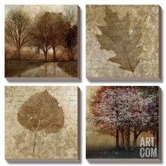 Arcadian Grove II Canvas Art Set by Keith Mallett 28.5 x 28.5