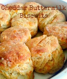 Cheddar Buttermilk Biscuits!!
